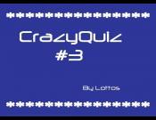 CrazyQuiz #3