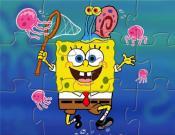 SpongeBob Jellyfishing Puzzle