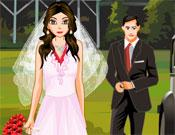 Romantic Wedding Dress Up