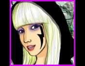 Lady Gaga Dressup Game