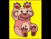 Apina -värityspeli
