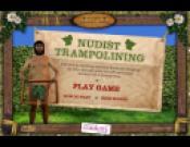 Nudist Trampolining