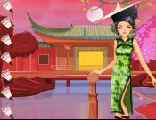 Chinese Ethnic Fashion Styling