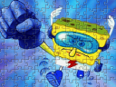Super Hero SpongeBob Puzzle