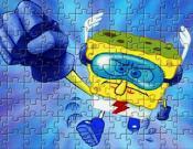 Super Hero SpongeBob Puzzle
