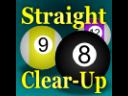 Straight Clear Up (Pool/Billiards)