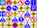 Road Signs Mahjong