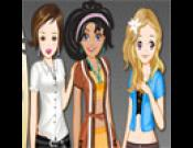 Triplets Doll Dressup