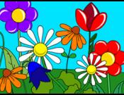 Flower Glade Coloring