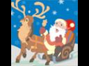 Hyvää Joulua Värityspeli
