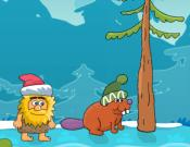 Adam and Eve: Snow