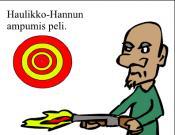 Haulikko-Hannun ampumis peli