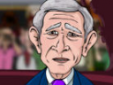 George Bush Royal Rampage