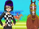 Nina the Horse Jockey