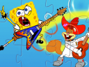 SpongeBob the Rock Star Puzzle