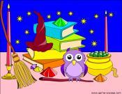 School of Wizardry: Magic Kit Coloring