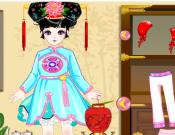 Pretty Chinese-style Girl