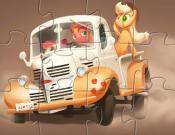 Apple Truck Jigsaw