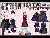 Stormy Gothic Style Dress Up