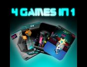 Bluscape: 4 arcade games in 1