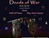 Deeds of War RPG