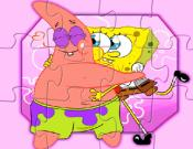 Patrick and SpongeBob Jigsaw