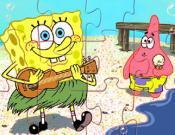 SpongeBob Beach Jigsaw
